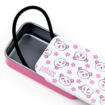 さくらパンダ スライドケース+へゴム