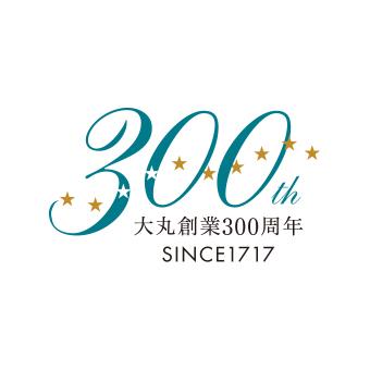 大丸三百周年ロゴ